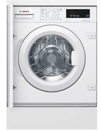 Bosch wiw24300es - lavadora integrable, clase a+++, 8 kg,