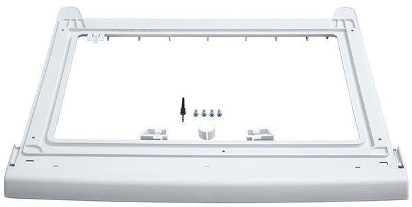 Bosch wtz20410 - kit de unión lavadora y secadora sin mesa
