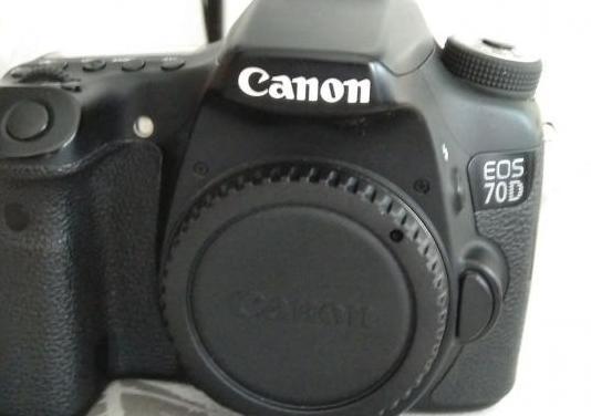 Canon eos 70d en garantía extras