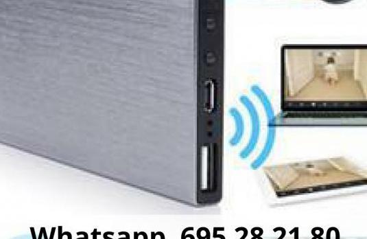 Cámara espia wifi cargador akpu