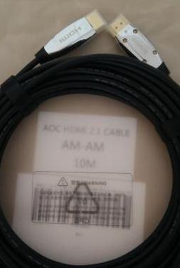 Cable hdmi 2.1 de fibra óptica 10 metros