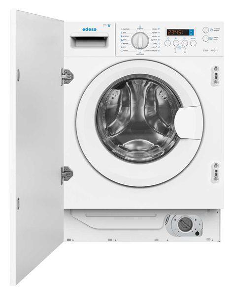 Edesa ewf-1480-i - lavadora integrable 8kg a+++ 1400 rpm 16
