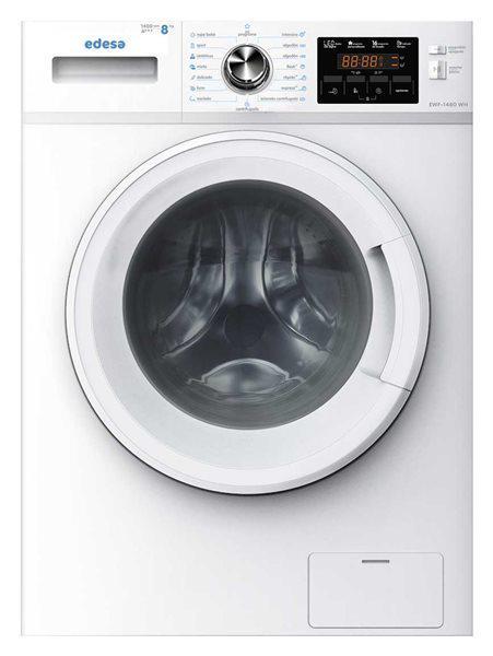 Edesa ewf-1480 wh - lavadora 8kg a+++ 1400 rpm 16 programas