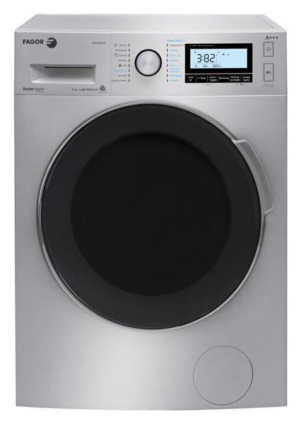Fagor 3fe-8812x - lavadora inox a+++ de 8kg y 1200rpm 54db