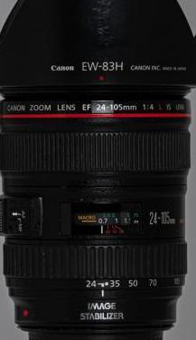 Objetivo canon 24_105mm f: 4 ef is usm