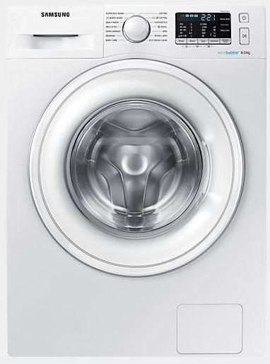 Samsung ww80j5555dw/ec - lavadora ecobubble 8kg a+++ 1.400