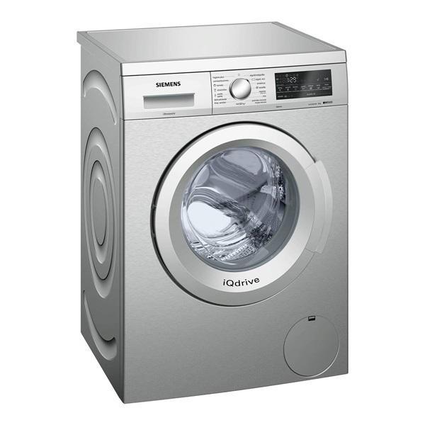 Siemens wu12q48xes - lavadora 8kg 1200 rpm clase a+++ acero