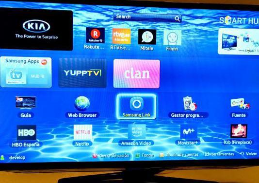 Smart tv samsung 40 full hd 3d wifi netflix hbo