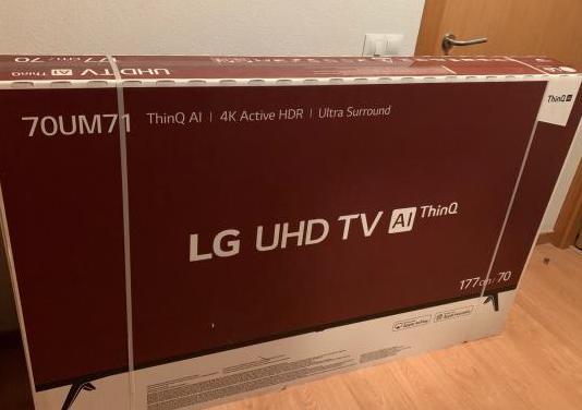 Tv lg 70um7100pla nueva a estrenar