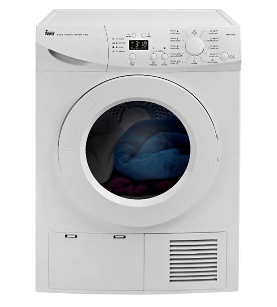 Teka 40854000 - secadora tks1 710c condensación 7 kg blanca