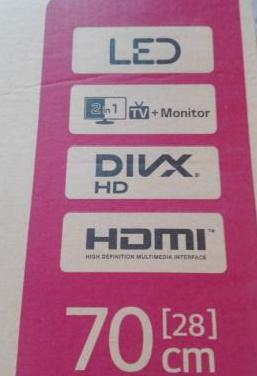 Televisión lg 28 pulgadas nueva