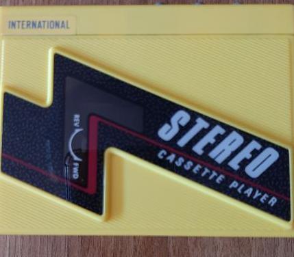 Walkman portátil vintage