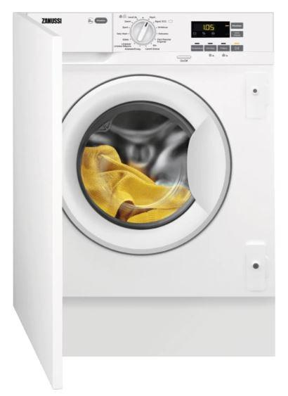 Zanussi zwi814udwa - lavadora integrable de 8kg clase a+++