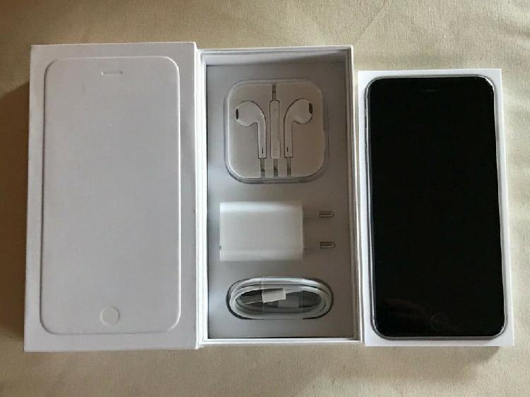 Apple iphone 6 plus 128gb negro. libre. con caja.