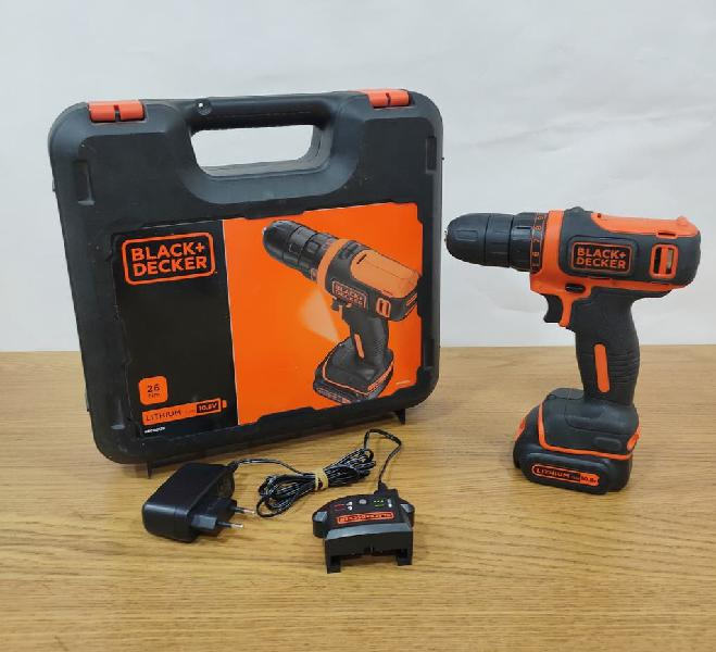 Atornillador a bateria black and decker 10,8v