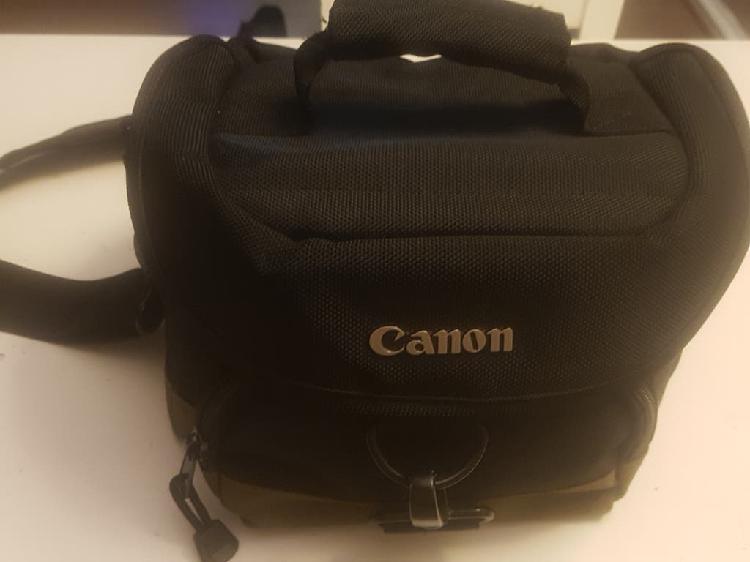 Bolsa transporte cámara réflex marca canon