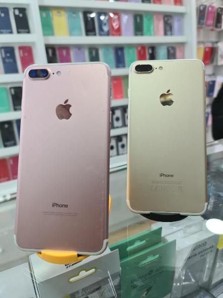 I phone 7 plus 128 gb ( 6 meses de garantía)