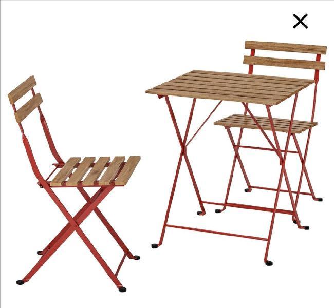 Mesa y sillas jardin balcon etc nuevas