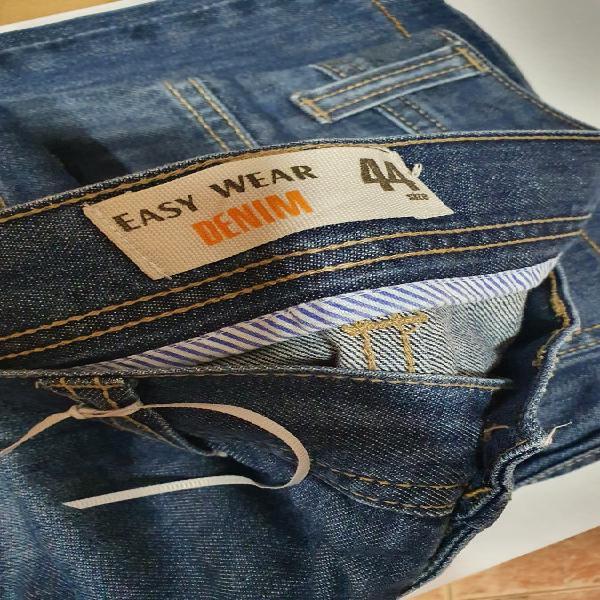 Pantalon easy wear denim para hombre talla 44