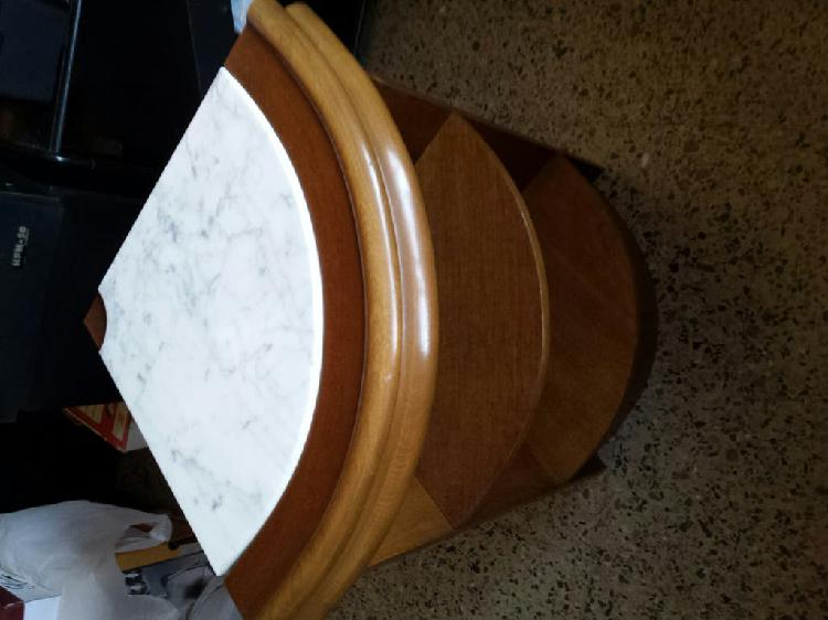Rinconera esquinera mesa auxiliar mueble madera