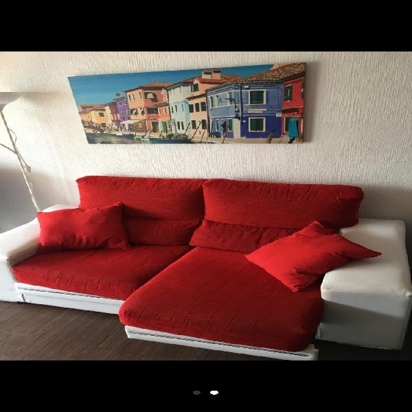 Sofa extensible polipiel