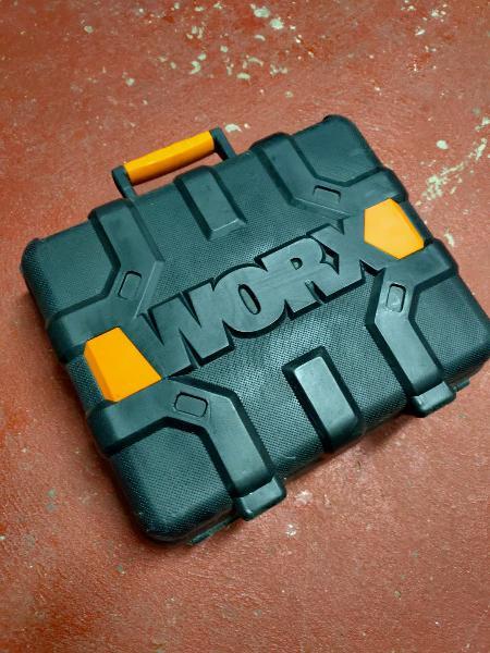 Taladro de batería worx 18v
