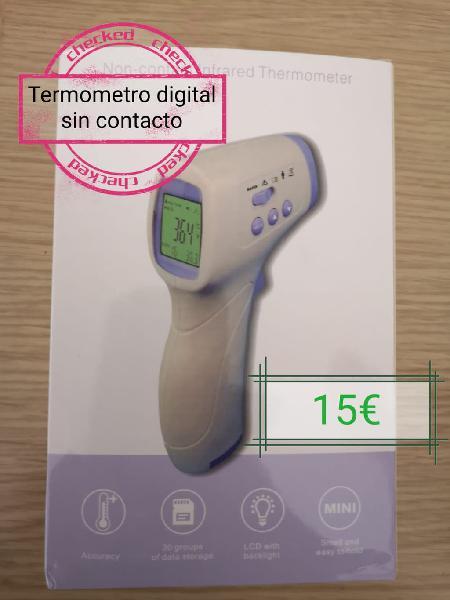 Termometro digital sin contacto infrarrojo