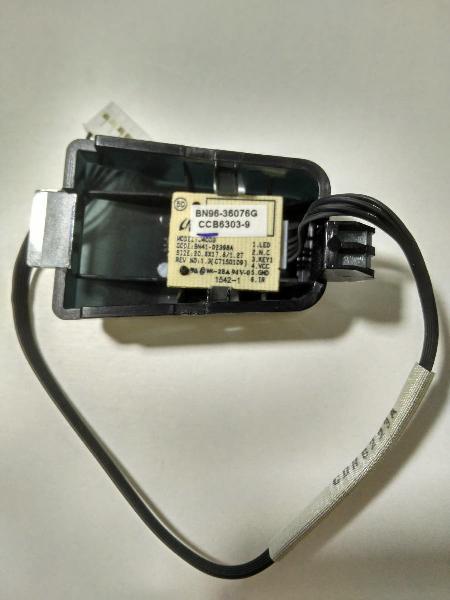Botón encendido power + ir led infrarrojos