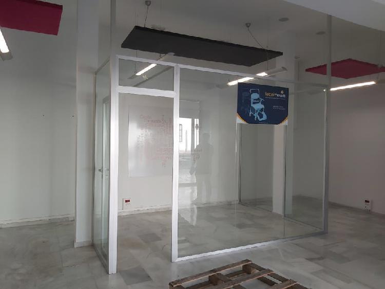 Cristales puerta cristal cerramiento oficina local