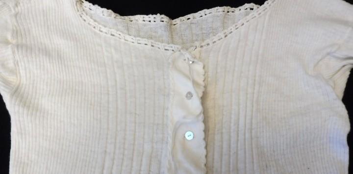Antigua camiseta interior - primera mitad s.xx