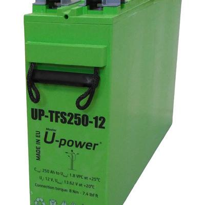 Baterías agm u-power up-tfs 250ah 12v