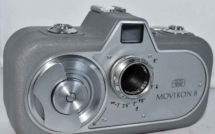 Camara de cine a cuerda 8 mm..zeiss ikon movikon