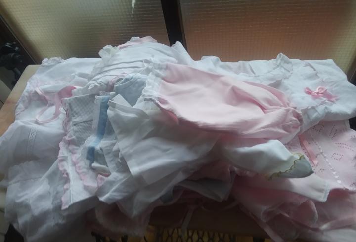 Lote de ropa de bebe niña