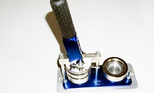 Maquina hacer chapas 50mm