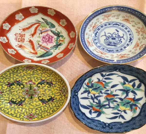 Platitos de porcelana china