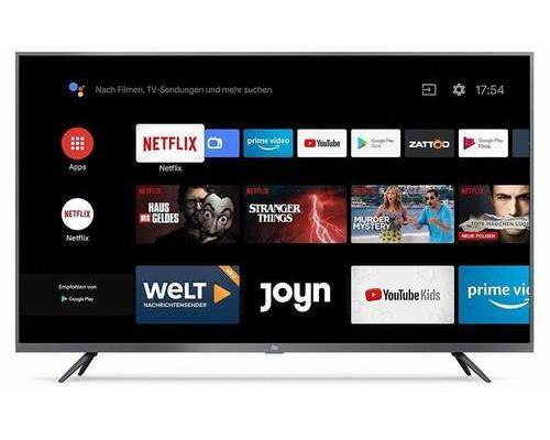 Tv led 43'' xiaomi mi led tv 4s 4k-hdr smart tv