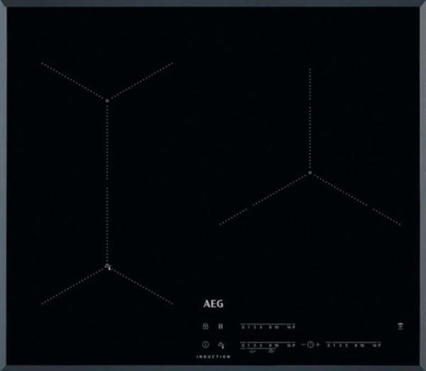 Aeg iae63431fb - encimera de inducción flexible de 60cm 3