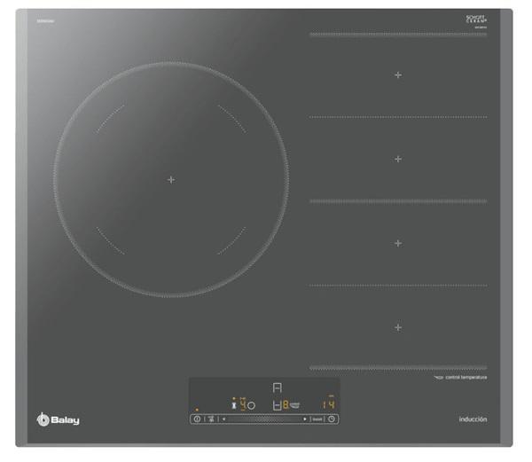 Balay 3eb969au - encimera flexinducción 2 zonas 60 cm gris