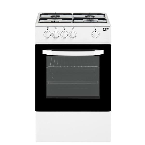 Beko csg42010dwn - cocina independiente de gas natural