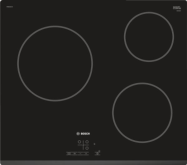 Bosch pkm631b17e - placa vitrocerámica 60cm 3 zonas bisel