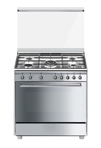Smeg sx91sv9 - cocina placa de gas y horno eléctrico 5