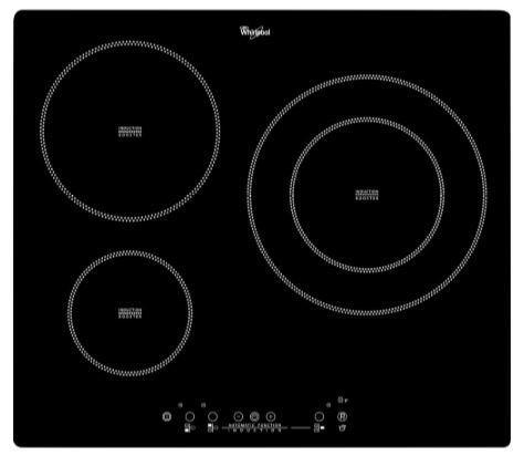 Whirlpool acm801ne - placa de inducción 3 zonas función