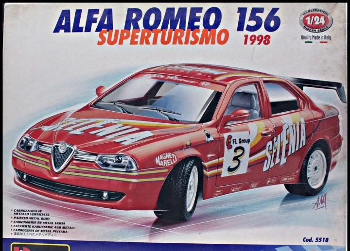 Alfa romeo 156 superturismo 1998. selenia. kit de montaje.