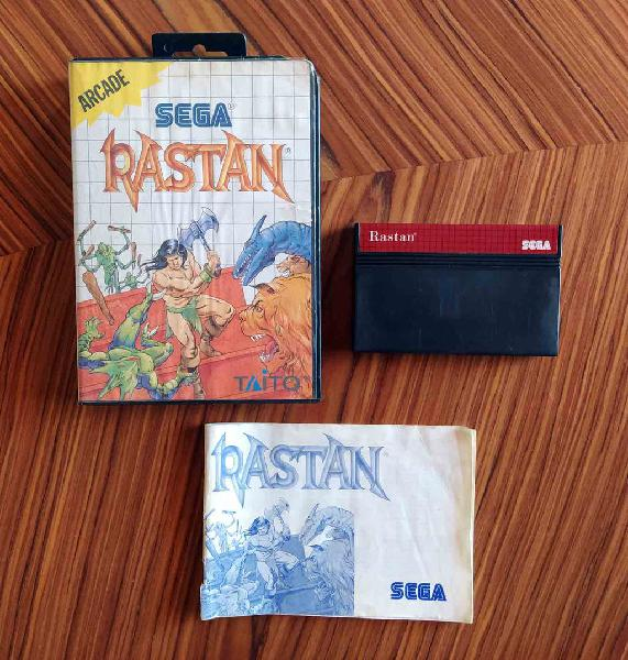 Completo rastan master system pal