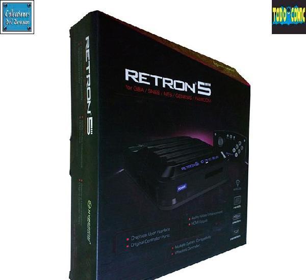 Consola retron 5 / hyperkin 2014 (compatible con nes, gba,