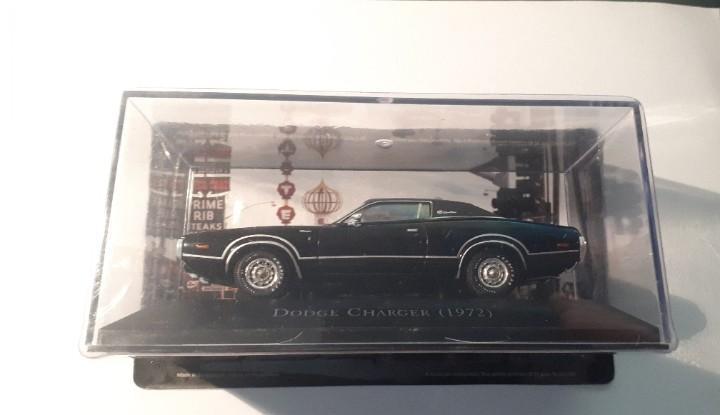 Dodge charger escala 1/43 colección american cars altaya