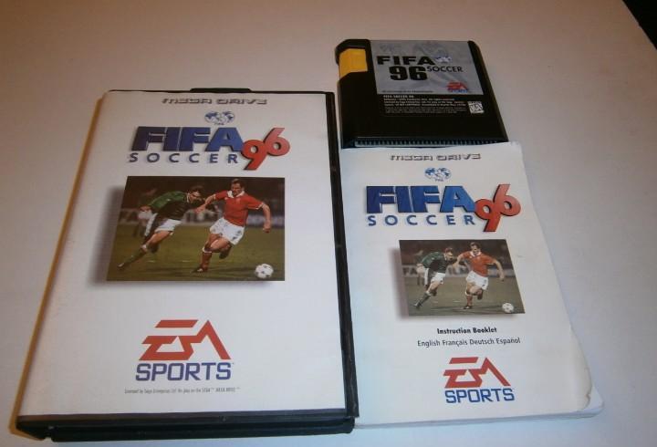 Fifa soccer 96 megadrive pal completo