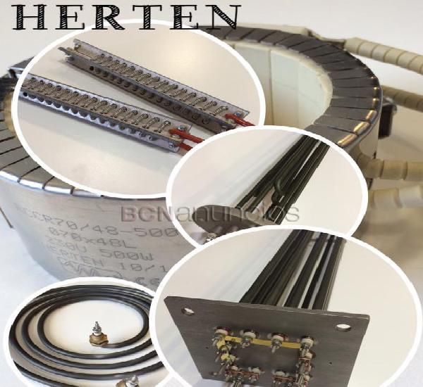 Fabricacion de cartuchos calefactores de alta densidad -