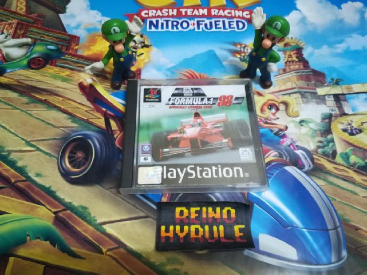 Fórmula 1 98 ps1 psx psone playstation ps2 ps3