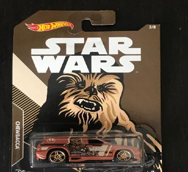 Hot wheels 2017 disney star wars 2/8 - chewbacca - fandango